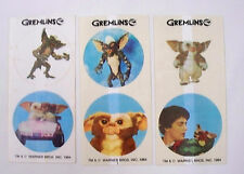 1984 Gremlins Stickers 3 Sheets Premium from Scotts