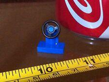LEGO Blue Steering Wheel Car Spare Original