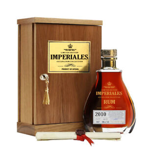 Imperiales Guyana Rum Collection 70cl 40% Humidor Decanter Guyana