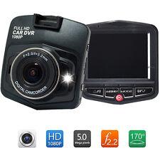"""2.4""""HD 1080P Auto Car DVR CCTV Dashcam Kamera Überwachung Recorder Lens G-Sensor"""