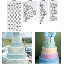 Princess Lace Cake Stencil Set Cake Border Craft Stencils Set Decorating Stencil