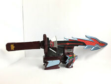 Power Rangers Samurai Sentai Shinkenger DX Kyoryu Origami Sword Zord Japan 4171