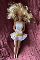 Vintage 1966 Mattel INC Barbie Doll Blonde Hair Blue Eyes w/ Clothes VERY RARE