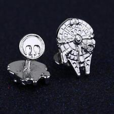 2017 Silver Wedding Shirt Cufflinks Novelty Star Wars Cuff Links Man's Jewelry