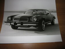 ORIG. Werksfoto Foto Chevrolet Camaro Sport bzw. LT Coupé 1977, 3/4 vorn, SELTEN