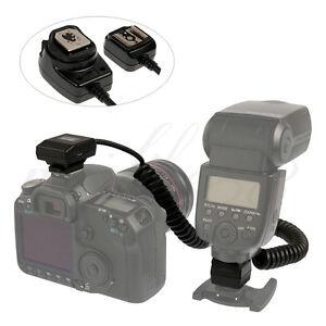 MK-CB-05 TTL Off-Camera Flash Remote Shoe Cord for Olympus E620 E3 E1 Evolt E510