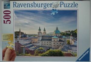 'Salzburg' Austria - Ravensburger 500 piece Jigsaw - Excellent completecondition