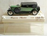 SOLIDO AGE D'OR 1:43 SCALE HISPANO PHAETON - GREEN & BLACK - #4062 - CASED