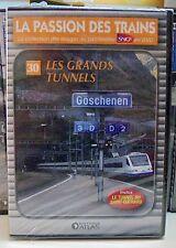 30 dvd la passion des trains atlas les grands tunnels neuf scellé