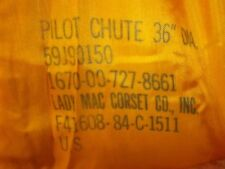 36 inch pilot chute