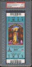 2013 Super Bowl XLVII Baltimore San Francisco Full Ticket Blue PSA 8 *4822