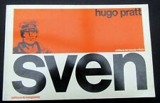 SVEN HUGO PRATT KANGOUROU EDIT FORMAT ITALIEN NB EO 1976 TBE