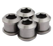 J&L Titanium MTB Chain Ring Bolts fit SRAM,Shimano,Raceface,FSA,Truvativ-Ti