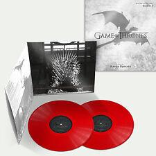 Game Of Thrones Season 3 Blood Red Vinyl - Ramin Djawadi