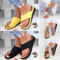 Summer Women Slippers Slides Flat Flip Flops Flat Sandals Beach Shoes Casual