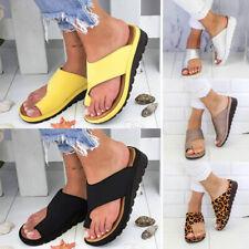 Женский, дам, модные сандалии, балетки на танкетке с открытым носком лодыжки пляжная обувь тапочки