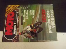 **m Revue Moto Journal n°380 900 Honda F bol d'or - 328 Montesa