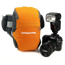 Caseman AW02 SLR DSLR Waterproof Camera Case Waist Bag fanny pack Orange Sony