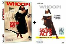 Dvd Sister Act 1-2 (2 Film Dvd)  .....NUOVO