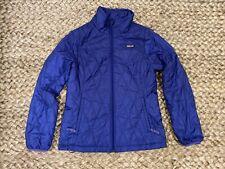 PATAGONIA KIds Unisex Nano Puff Jacket, Zip Front, Purple, Sz Large  (12)