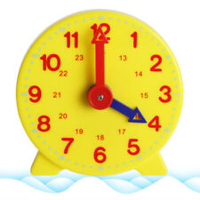 BT_ Children Learning 24Hours Clock for Kids Learn Time Clock Educational Toys