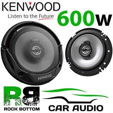 KENWOOD SAAB 93 9-3 2003 - 2014 6.5 16cm 600 Watts Front Door Car Speakers