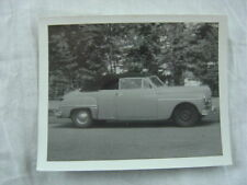 Vintage Car Photo 1949 Plymouth Convertible 815111