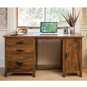 FRENCH STYLE HANDMADE WOODEN OFFICE DESK - FURNITURE