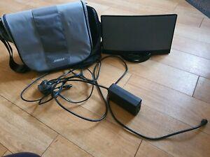 Black BOSE SoundDock iPod Speaker Dock & Grey BOSE Carry Bag - Series 1