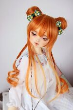 1 3 8-9 Bjd Parrucca Dal Pullip BJD SD MSD DOD DOC DD Dollfie Doll orange