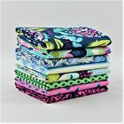 OOP 8 fat quarter bundle Tula Pink Elizabeth - Sky 100% cotton quilting fabric