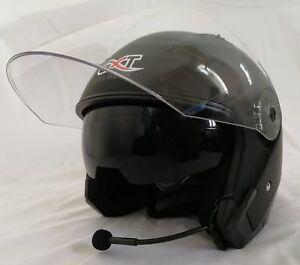 MX-BTX1 Bluetooth PTT Helmet Intercomm Dual Visors PPG Paragliding Motorcycle XL