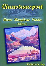 Circustransport Volume 3 Amar Bouglione Pinder ( Büch Circus Transport)