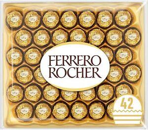 Ferrero Rocher Chocolate Expiry Date: 13/05/21, 42 Pieces