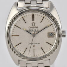 Auth OMEGA Constellation Cal.564 18KWG Bezel Date Automatic Men's Watch Q#84722