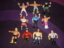 HASBRO WWF 10 WRESTLERS COLLECTION IRS Mountie BIG BOSS MAN ROWDY RODDY PIPER