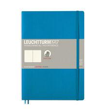 Leuchtturm 1917 Azure Blue, Softcover,(B5), dotted bullet journal notebook - NEW