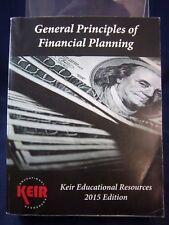 Keir General Principles of Financial Planning (2015) Revised PB 180620