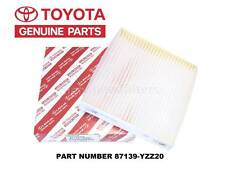 Genuine OEM A/C CABIN AIR FILTER TOYOTA 87139-YZZ20