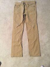 "Hollister Tan Khaki Jeans Size 32 Inseam 30"""