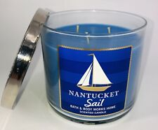 NEW Bath & Body Works Nantucket Sail 3-Wick 14.5 oz Scented Candle