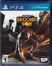 InFAMOUS: Second Son [PlayStation 4 PS4, Platform Exclusive Action Game] NEW