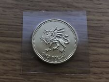 1995 £1 BU Coin - Welsh Dragon - Royal Mint One Pound UNC Uncirculated