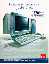 PUBLICITE ADVERTISING 045  2002  PACKARD BELL  informatique PC