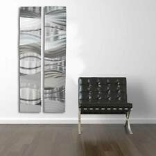 Metal Wall Art Sculpture Panel contemporary abstract painting Modern