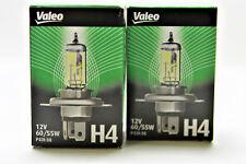2 X VALEO H4 032515 Glühlampe HALOGEN LAMPEN AQUA VISION 55W 12V GELB E-GEPRÜFT