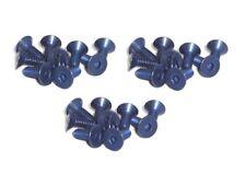 30x M4x10 DIN7991 blaue Titanschrauben Senkkopf Senkkopfschrauben