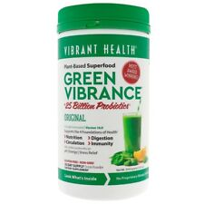 VIBRANT HEALTH GREEN VIBRANCE VERSION 16.0 25 BILLION PROBIOTICS 12.5 oz 354.9gm