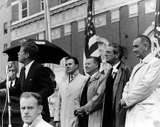 JFK President John F. Kennedy speaks at Fort Worth Texas rally New 8x10 Photo