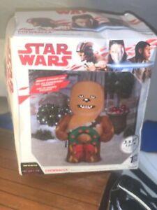 3.5' Airblown  Disney Star Wars Christmas Chewbacca Inflatable Yard decoration